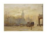 Whitehall Giclee Print by Herbert Menzies Marshall