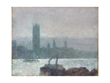 Houses of Parliament, Early Evening, 1898 Giclee Print by Childe Hassam