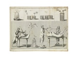 Theorectical and Experimental Test on Galvanism, 1804 Giclee Print by Giovanni Aldini