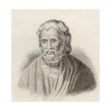 Moschion, from 'Crabb's Historical Dictionary', Published 1825 Giclee Print