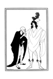 The Examination of the Herald, 1896 Giclee Print by Aubrey Beardsley