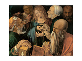 Jesus Among the Doctors, 1506 Giclee Print by Albrecht Dürer
