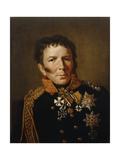 Portrait of Prussian War Minister Hermann Von Boyen, 1818 Giclee Print by Francois Pascal Simon, Baron Gerard