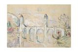 The Pont Valentre, Cahors Giclée-Druck von Paul Signac