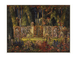The Manor Gates Giclee Print by Thomas Edwin Mostyn