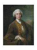 Portrait of Lord Trimelston, 1744 Giclee Print by Philippe Mercier