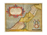 Celebrated Places in Judea and Israel, from the 'Theatrum Orbis Terrarum', 1603 Giclee Print by Abraham Ortelius