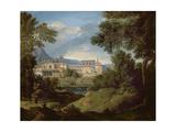 Italian Landscape Giclee Print by Gaspard Poussin Dughet
