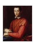 Portrait of Francesco I De' Medici Giclee Print by Agnolo Bronzino