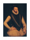 Portrait of Sir Walter Raleigh, 1595 Giclee Print by Marcus, The Younger Gheeraerts
