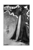 Henry Irving as 'Becket' at the Lyceum Theatre,London, in the Poetic Drama 'Becket' by Tennyson,… Giclee Print by Aubrey Beardsley