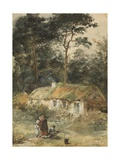The Home of the Faeds Giclee Print by Thomas Faed