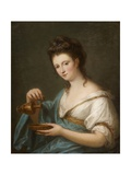 A Personification of Hebe Giclee Print by Angelica Kauffmann