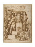 The Sacrifice of Noah Giclee Print by Baccio Bandinelli