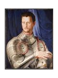 Portrait of Cosimo I De' Medici, C.1545 Giclee Print by Agnolo Bronzino