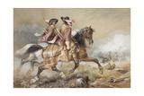 Two Cavaliers Giclee Print by Richard Beavis