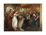 Ophelia and Laertes, 1892 Giclee Print by Benjamin West
