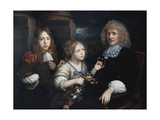 A Family Group Giclee Print by Pierre Mignard