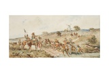 Prince Rupert at the Battle of Naseby I Giclee Print by George Cattermole