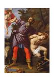 The Sacrifice of Abraham Giclée-tryk af Cristofano Allori