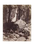 Falls, Yosemite, C.1860 Giclee Print by Carleton Emmons Watkins