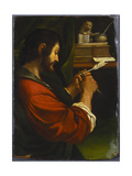 Saint Mark Giclee Print by Guercino (Giovanni Francesco Barbieri)