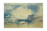 Lyme Regis, Dorset, England, C.1834 Giclee Print by Joseph Mallord William Turner