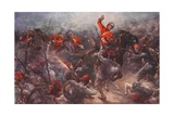 The Charge of Drury Lowe's Cavalry at Kassassin, August 28th, 1882 Giclee Print by Christopher Clark