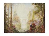 Sita's Garden II Giclee Print by Thomas Edwin Mostyn