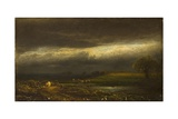 Coming Storm, Lake Cayuga (N.Y.) Giclee Print by William Hart