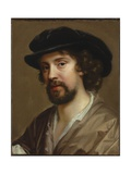 Portrait of the Artist's Husband, Charles Beale in a Black Hat Giclee Print by Mary Beale