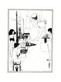 The Toilette of Salome, 1899 Giclee Print by Aubrey Beardsley