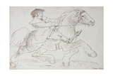 A Horse Dealer Puts a Young Clydesdale Through its Paces, 1830 Giclee Print by James Howe