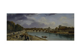 The Seine Below Paris, C.1825-35 Giclee Print by William Cowen