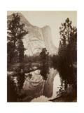 Washington Column, Yosemite, C.1866 Giclee Print by Carleton Emmons Watkins