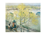 Pont Royal, Paris, 1897 Giclee Print by Childe Hassam