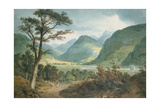 Near the Castle of Braemar Giclee Print by M. W. Williams