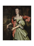 Portrait of a Lady, C.1660s Giclee Print by John Michael Wright