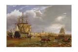 Shipping Scene Giclee Print by John Lynn