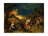 An Allegory of War, C.1608 Giclee Print by Frans II the Younger Francken