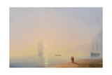 Looking at the Black Sea Giclee Print by Ivan Konstantinovich Aivazovsky