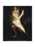 The Birth of Sin Giclee Print by Henry Fuseli