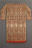 A Woven Ikat Jacket for Ritual Use for a Dayak Iban Shaman, Sarawak, Malaysia Photographic Print