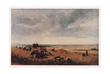 The Cornfield Giclee Print by Peter De Wint