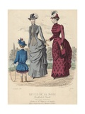 Illustration from 'Fashion Review', 1883 Giclee Print by Paul Deferneville