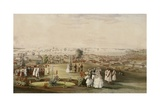 View of Singapore from Fort Canning, 1846 Giclee Print by John Turnbull Thomson