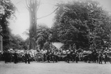 The Prince Imperial's Funeral Cortege, Camden Place, July 12, 1879 Photographic Print by  English Photographer