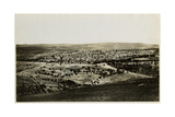 View from Mt. Scopus, 1850s Giclee Print by Mendel John Diness