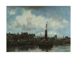 A View of Amsterdam Giclee Print by Jacob Henricus Maris