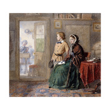 The New Boy, 1860 Giclee Print by Frederick Walker
